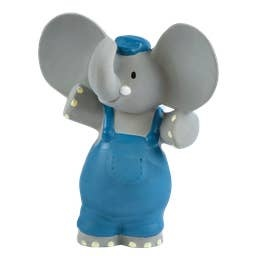 Tikiri Toys Alvin the Elephant Rubber Toy