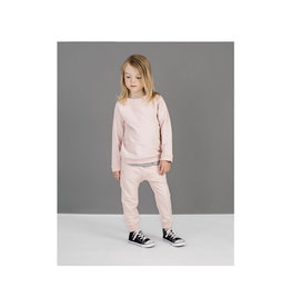 Miles Baby Light Pink Crew Neck Sweater & Jogger Set - Toddler