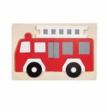 Mud Pie Fire Truck Puzzle