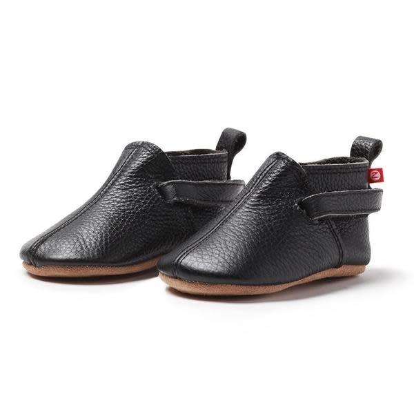 Zutano Black Leather Baby Shoe
