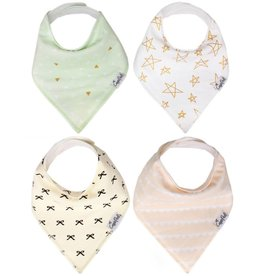 Copper Pearl Bibs - Paris Set - 4 pack
