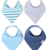 Copper Pearl Bibs - Oxford Set - 4 pack