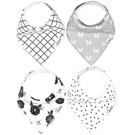 Copper Pearl Bibs - Willow Set - 4 pack