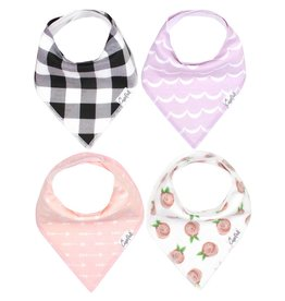 Copper Pearl Bibs - Rosie Set - 4 pack