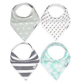 Copper Pearl Bibs - Tribe Set - 4 pack