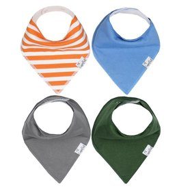 Copper Pearl Bibs - Jackson Set - 4 pack