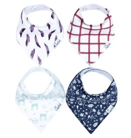 Copper Pearl Bibs - Fawn Set - 4 pack