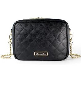 Itzy Ritzy Itzy Ritzy Crossbody Diaper Bag Black