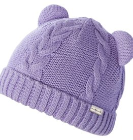 Millymook and Dozer Baby Girls Beanie - Morgan Lilac S (0-12m)