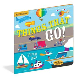 Workman Publishing Indestructibles: Things That Go!