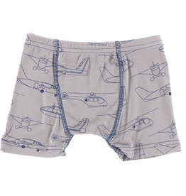 Kickee Pants Print Single Boxer Brief Feather Heroes in the Air 3T-4T