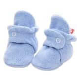Zutano Cozie Fleece Bootie - Light Blue 3M