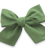 Baby Bling Bows Big Cotton Bow : Hunter