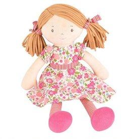 Tikiri Toys Fran Doll - Lt Brown Hair with Dress
