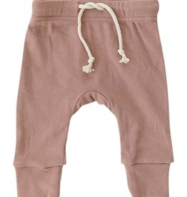 Mebie Baby Cotton Blush Jogger Pants