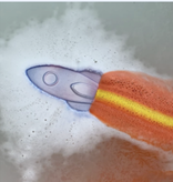 Feeling Smitten Rocket Rainbow Bath Bomb