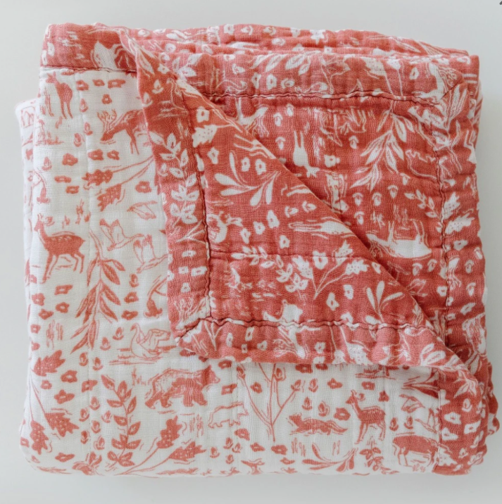 Saranoni 4-Layer Quilt By Hope Wildwood Bamboo Rayon Muslin