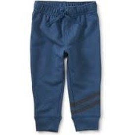 Tea Collection Speedy Striped Baby Joggers - Copen Blue