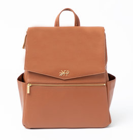 Freshly Picked Classic Diaper Bag Cognac - In-store pick up or local delivery only.