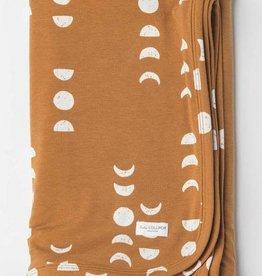 Lou Lou Lollipop Stretch Knit Blanket in TENCEL - Moon
