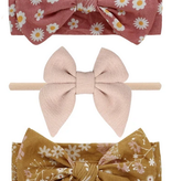 Emerson and Friends Baby Girl Bamboo Headband Set