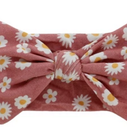 Emerson and Friends Bamboo Rose Daisy Baby Headband