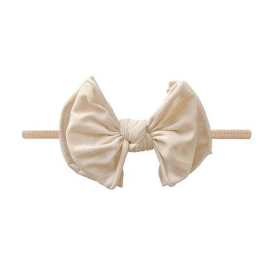 Baby Bling Bows FAB-BOW-LOUS Skinny:  Oatmeal