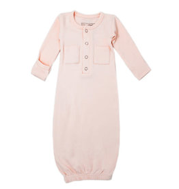 Loved Baby Organic Gown Blush
