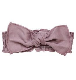 Loved Baby Organic Smocked Tie Headband Lavender