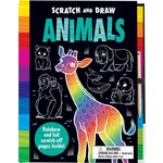 House of Marbles Scratch and Draw - Animals