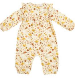 Angel Dear Ruffle Sleeve Romper, Daisy Baby 3-6M