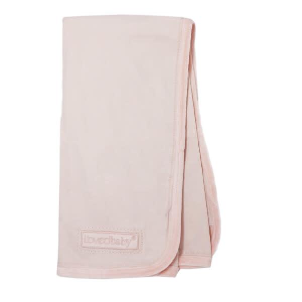 Loved Baby Velveteen Blanket Blush