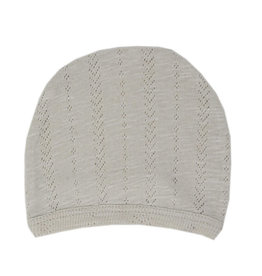 Loved Baby Pointelle Hat Stone 0-3M