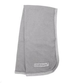 Loved Baby Velveteen Blanket Light Gray
