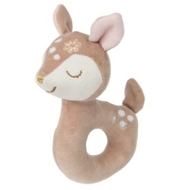 Mary Meyer Teether Rattle, Itsy Glitzy Fawn Rattle