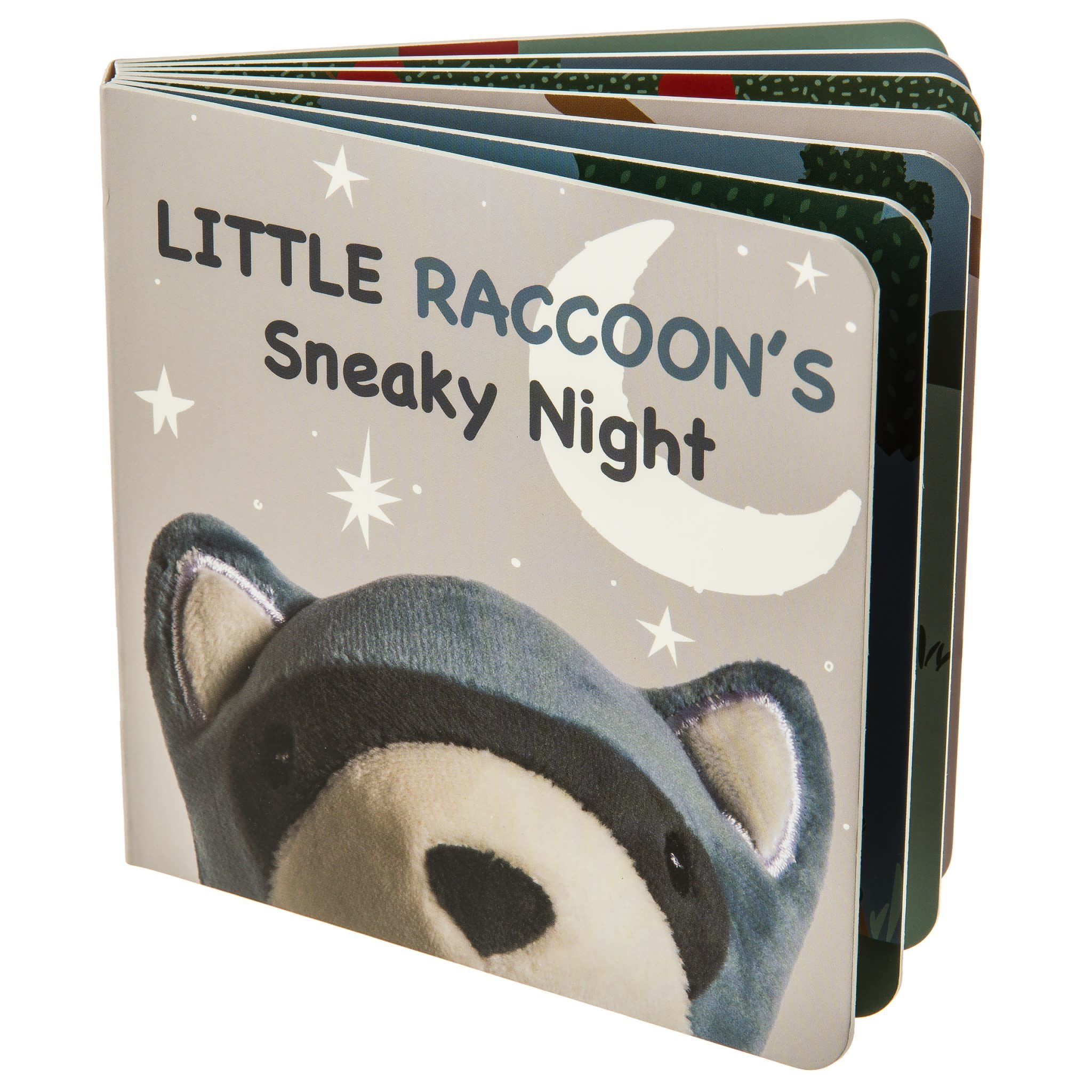 Mary Meyer Leika Little Raccoon Book