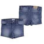 Mayoral Girls Medium Denim Jean Shorts