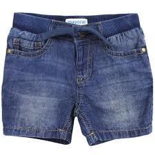 Mayoral Basic Denim Bermuda Baby Boy Shorts