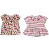 Mayoral Baby Girl Short Sleeve Poppy Stripe T-shirt