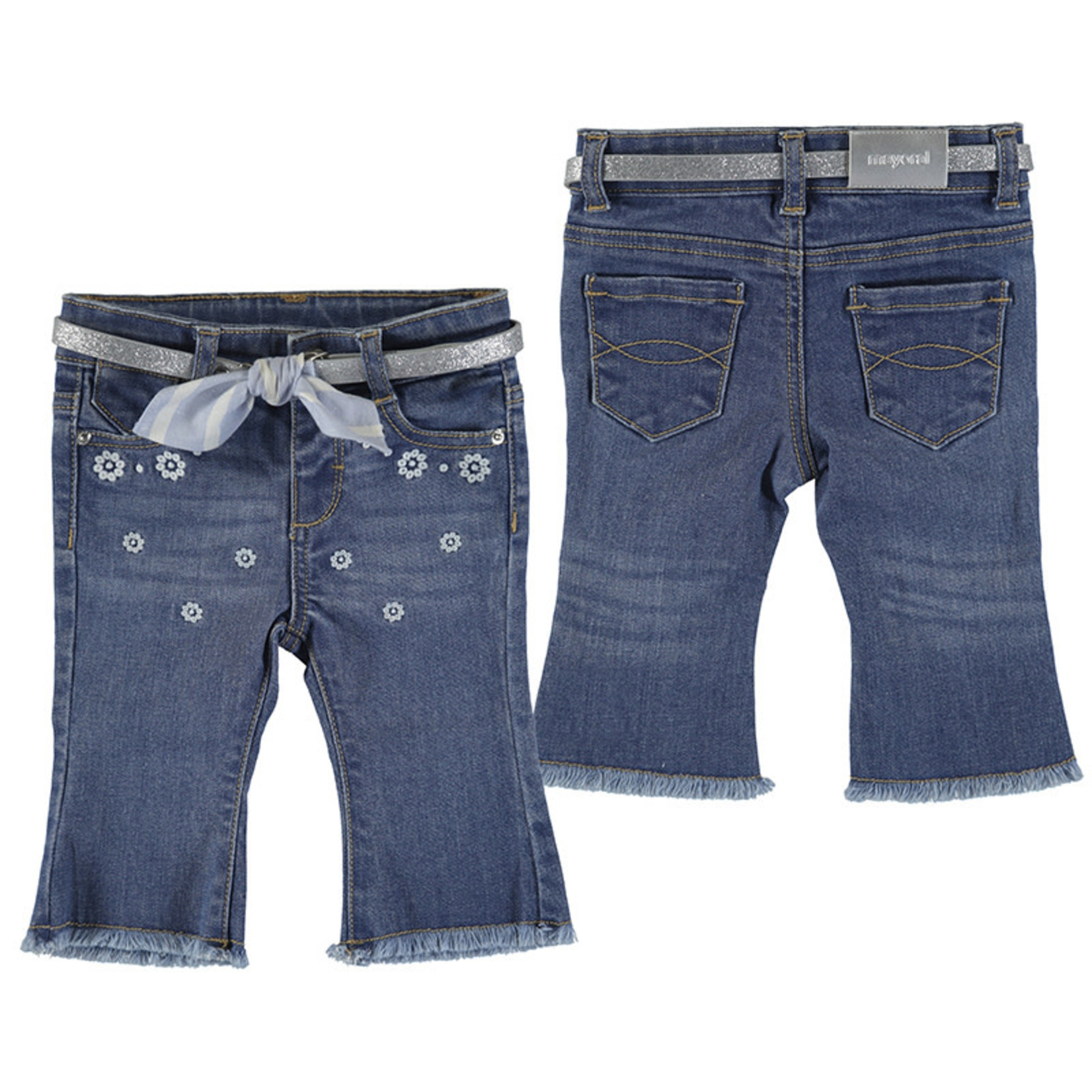 Mayoral Baby Girl Medium Denim  Jeans