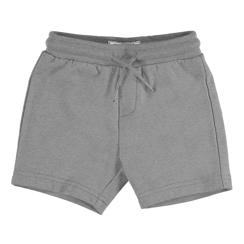 Mayoral Baby Boys Basic Fleece Shorts, Smoke