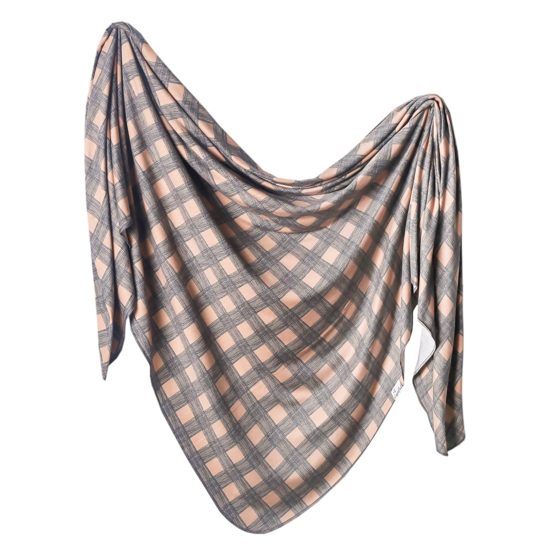 Copper Pearl Knit Blanket - Billy