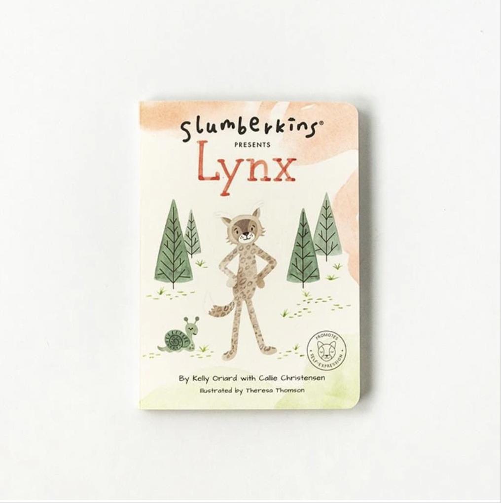 Slumberkins Lynx Snuggler Bundle