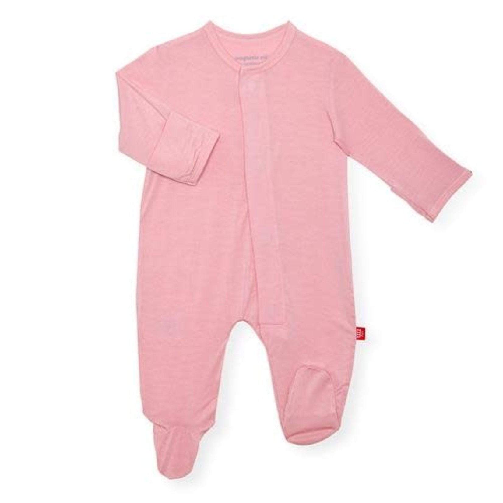 Magnetic Me Dusty Rose Solid Modal Magnetic Footie