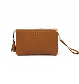 Freshly Picked Zip Pouch Cognac