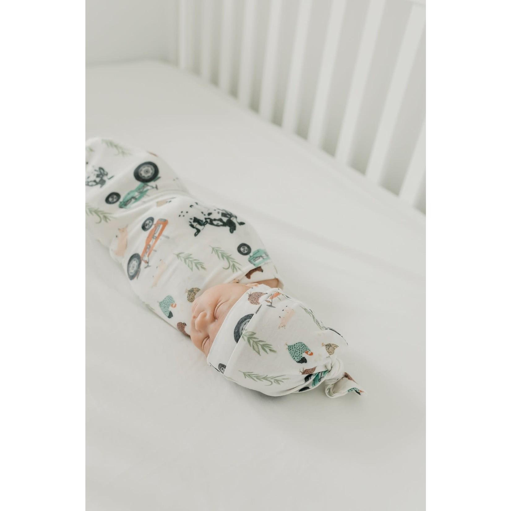 Copper Pearl Knit Blanket - Jo Farm
