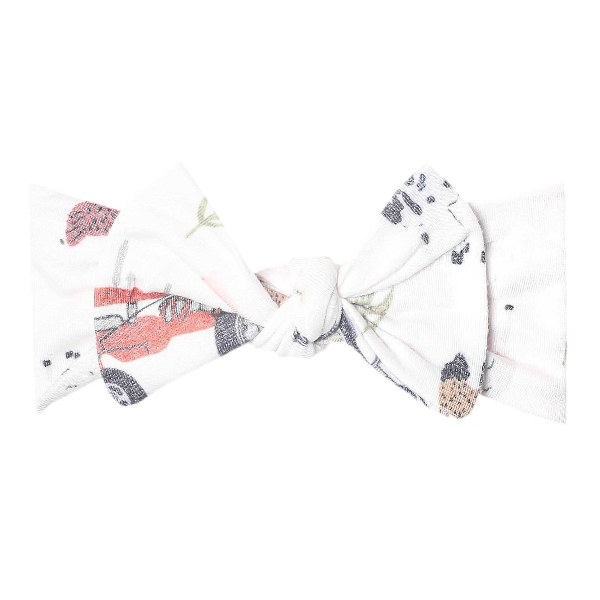 Copper Pearl Knit Headband - Jo Farm