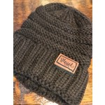 """Knit """"Blessed"""" Brown Beanie  OS"""