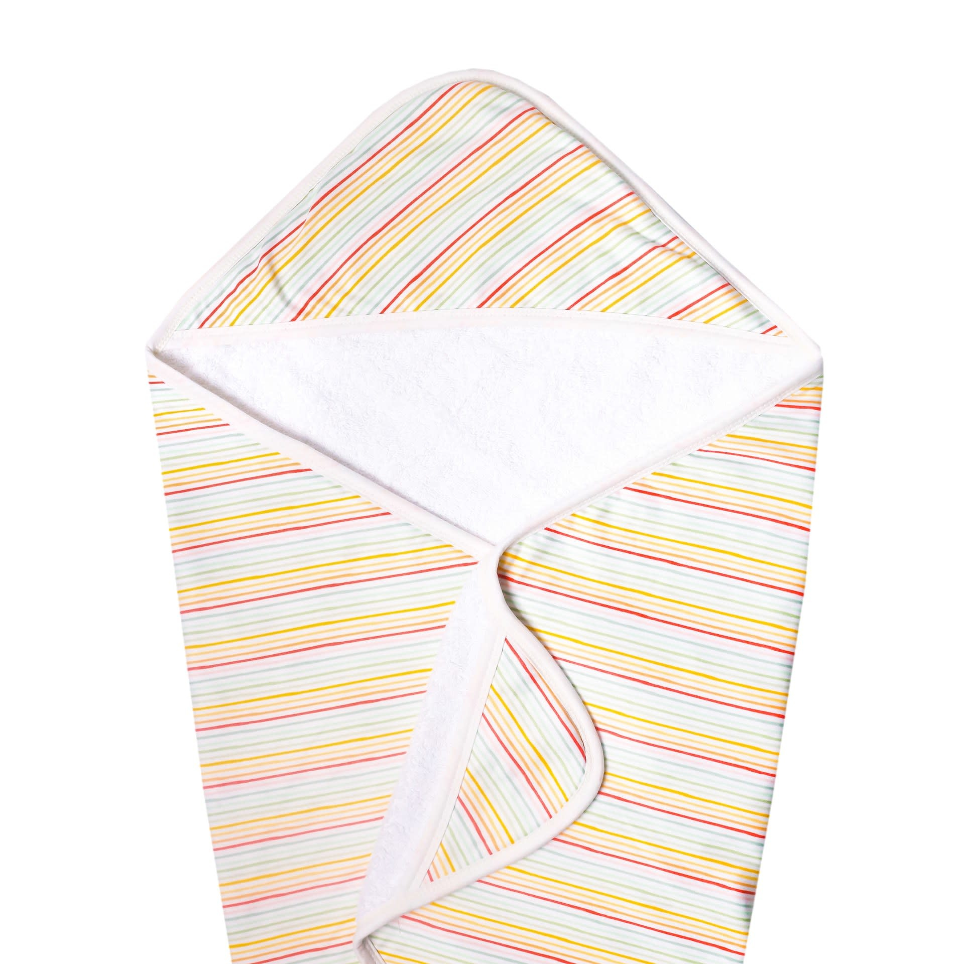 Copper Pearl Knit Hooded Towel - Rainee