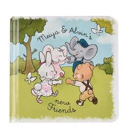 Tikiri Toys Meiya & Alvin - Story Book- New Friends